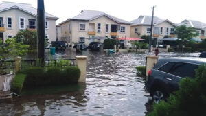 flood free areas in Lekki
